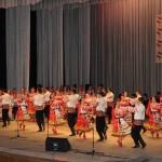 Выступление народного ансамбля «Черноземочка» имени В.В. Соломахина