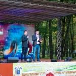Р.В. Подколзин на открытии ежегодного рок-фестиваля ГРОМ