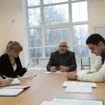 Доцент А.Н. Черных проводит практическое занятие по экономико-математическому моделированию в АПК